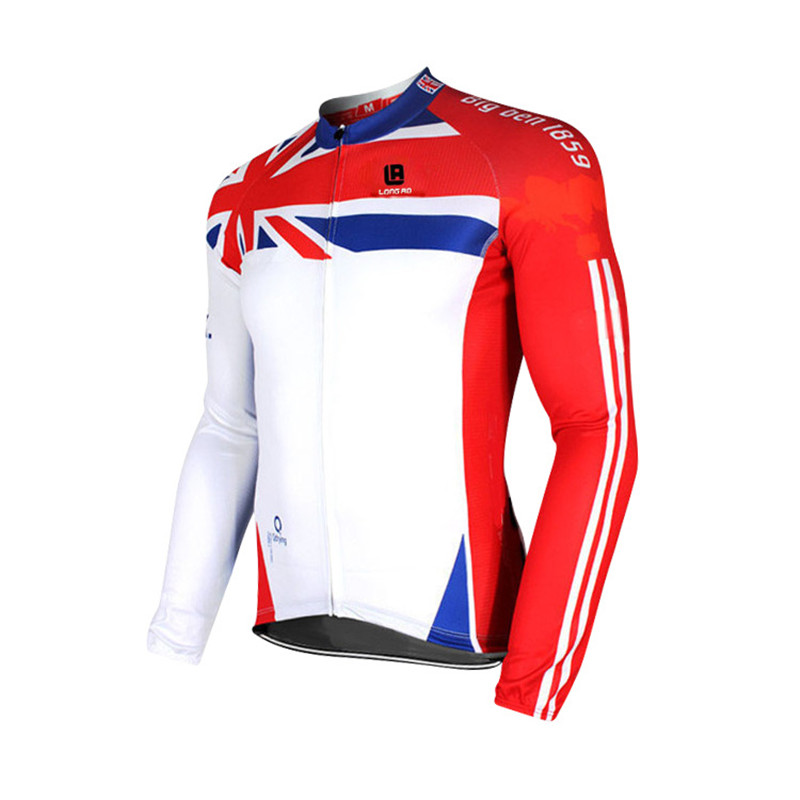 Outdoor Cycling Windproof jacket long sleeved Bike Bicycle Jersey Breathable Reflective Outdoor professional Jacket for bike ...