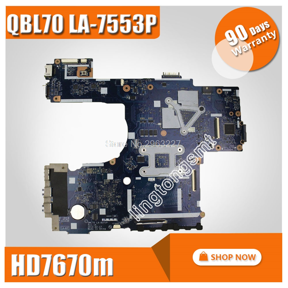 K73TA Motherboard QBL70LA-7553P hd7670m 1gb For ASUS X73T K73TA K73TK R73T Laptop motherboard K73TA Mainboard K73TA Motherboard k73ta for asus k73t x73t k73ta k73tk r73t latop motherboard rev 1a qbl70 la 7553p hd7670m 1gb mainboard 100% tested ok