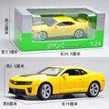 Marca Nueva WELLY Escala 1/24 EE.UU. Chevrolet Camaro Diecast Metal de Coches de Juguete Modelo De Regalo/Colección/Niños/navidad