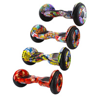10 inch Self Balancing Scooter Electric Hoverboards with Bluetooth Speaker Carry Bag 2018 Newest