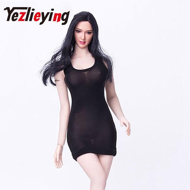 0a330c69b7e Sexy black transparent 1 6 ratio dress mini skirt dress high heels shoes  set 12