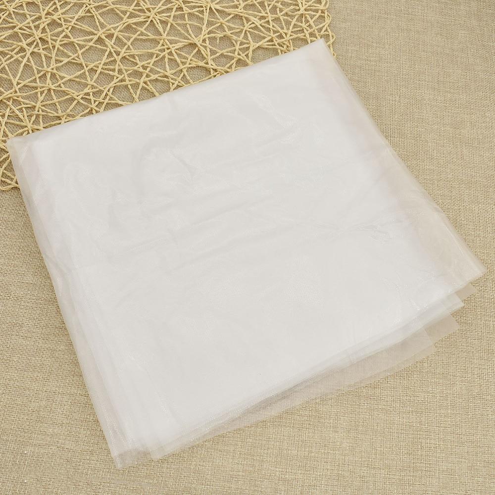 Tear Away Backing 60g White 1m Widths Embroidery Stabiliser Medium Weight