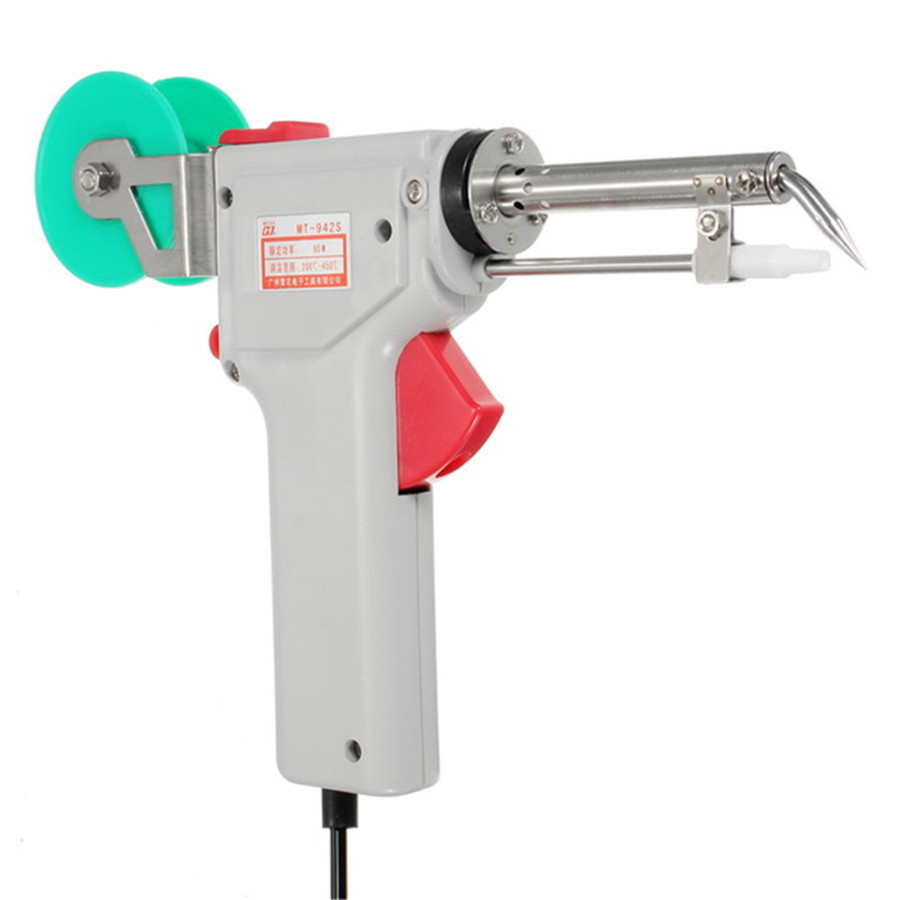 Tools : 220V 60W 80W  Manual Soldering Gun Electric Gun Type Iron Automatic Soldering Machine Automatically Send Tin Fast Heating TP-116