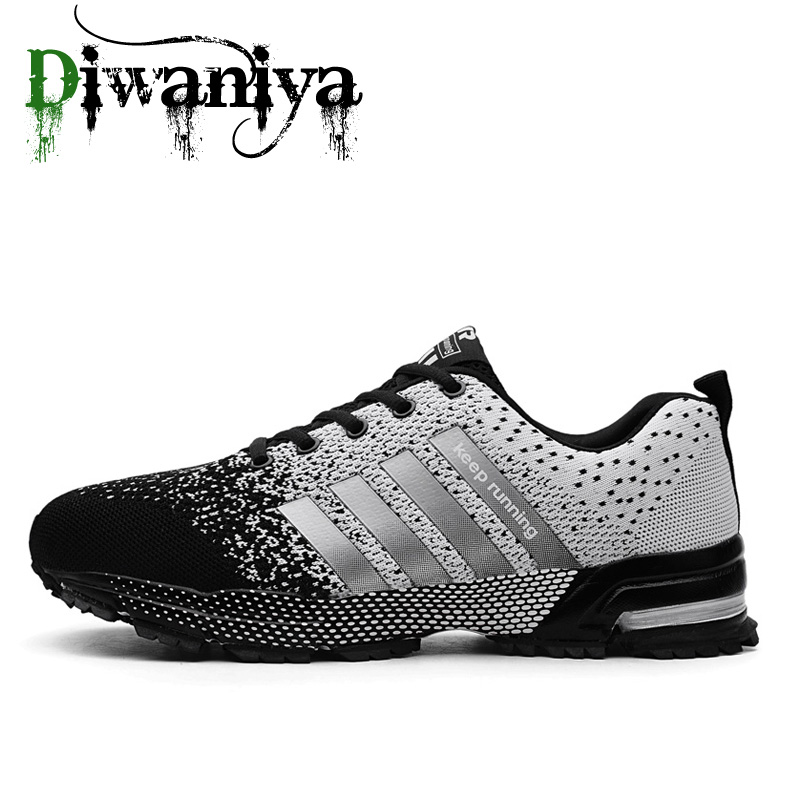 Men Running Shoes Breathable Outdoor Sports Shoes Lightweight Sneakers For Women Comfortable Athletic Training Footwear 35~47