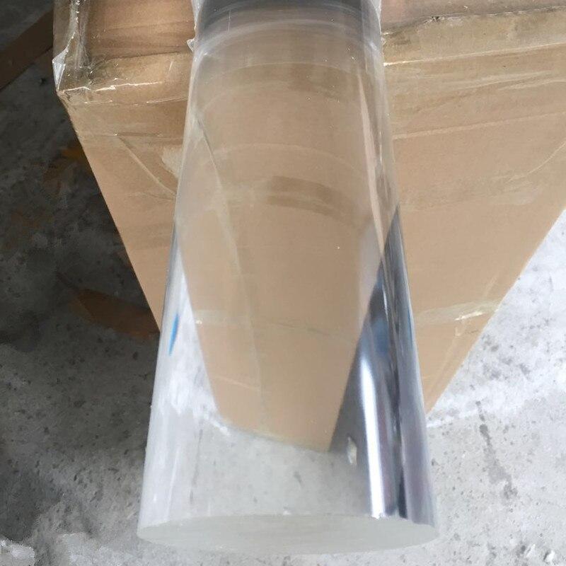 2 шт. OD120x1000mm акриловые стержни ясно прессованный домашний сад Декор улучшение лестницы перила Поручни пластик прозрачный PMMA бар