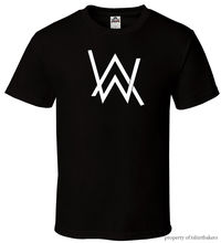 Alan Walker - Black T-Shirt Rage DJ Life Rave edm AW Walkzz All Sizes S-3XL Harajuku TopsFashion Classic Unique free shipping
