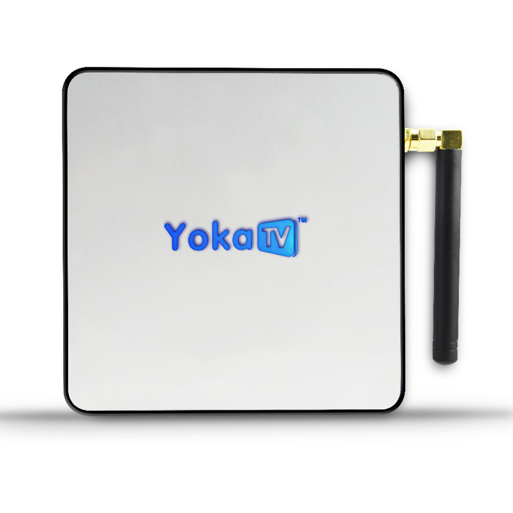 Yokatv kb2 pro amlogic s912 octa Core Android 7.1 Televisiones inteligentes caja 3 GB 32 GB Set Top Box BT 4.0 2.4g 5g dual WiFi 4 K Media Player