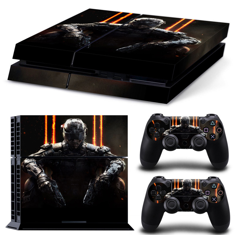 Call Of Duty PVC Removable Waterproof Decal Film Sticker For PS4 Console Vinyl For Playstation 4 PS4 Controller Protector Cover