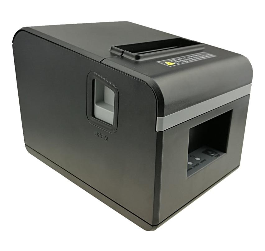 En gros marque nouvelle 80mm réception bill imprimante de Haute qualité Petit billet POS imprimante automatique de coupe vitesse d'impression Rapide