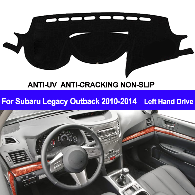 TAIJS Car Dashboard Cover For Subaru Legacy Outback 2010 2011 2012 2013 2014 Dash Mat Dash Board Pad Carpet Dashmat Anti-UV