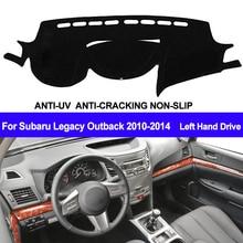 TAIJS Car Dashboard Cover For Subaru Legacy Outback 2010 2011 2012 2013 2014 Dash Mat Dash Board Pad Carpet Dashmat Anti UV