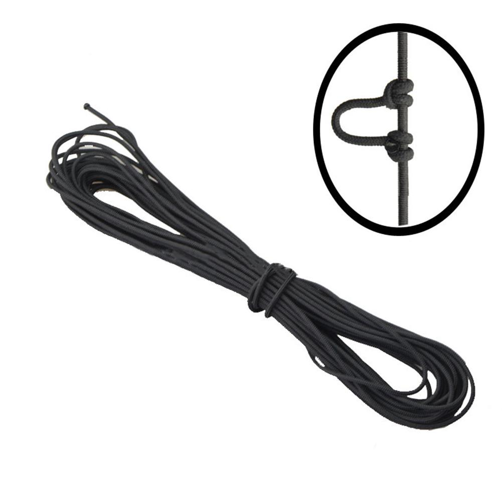 Mounchain   9ft(3m) Archery Compound Bow D-Loop High Strength Wire String Nylon Nock Safe Release D Loop Accessory