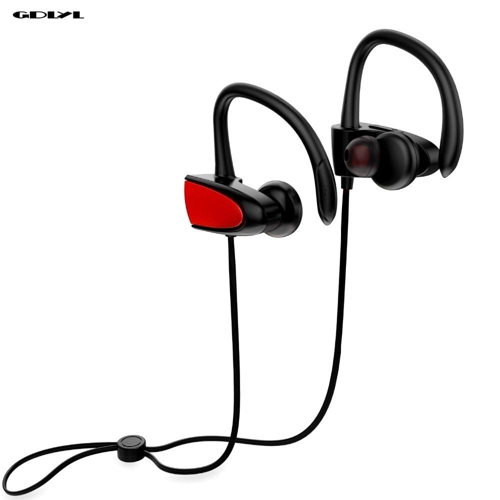 GDLYL Wireless Bluetooth Earphone With Mic Sport Earbuds Headset Stereo Earphone Bluetooth 4.2 Earpiece Headphone fone de ouvido wireless earphone stereo earbuds fone de ouvido headset for iphone samsung xiaomi invisible small mini bluetooth headphone