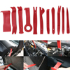 11 PCs Set Auto Trim Removal Pry Open Tool Kit For Car Dash Radio Door Trim