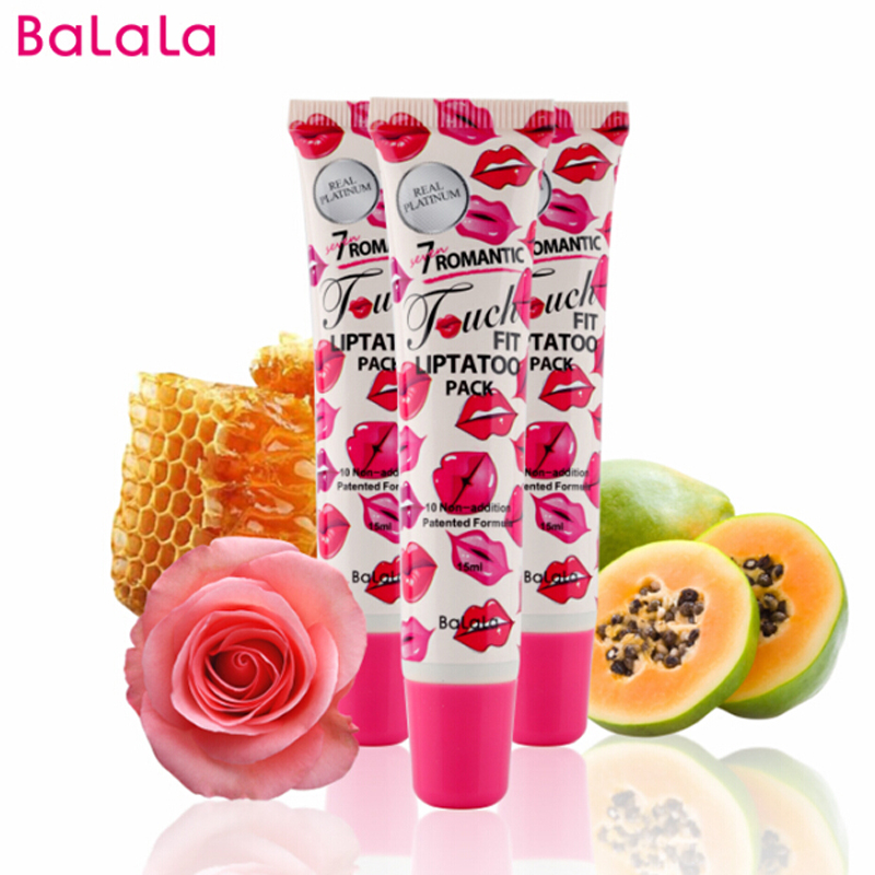 2016 Makeup Sexy Peel Off Lip Gloss Batom Lip Tint Vandtæt - Makeup
