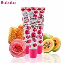 2016 Makeup Sexy Peel Off Lip Gloss Batom Lip Tint Waterproof Lipstick Lipgloss Moisture 5 Colors