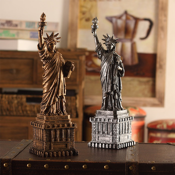Statue of Liberty Statue Sculpture from New York City Liberty Island Collection Souvenirs (13.4 Inches Tall)