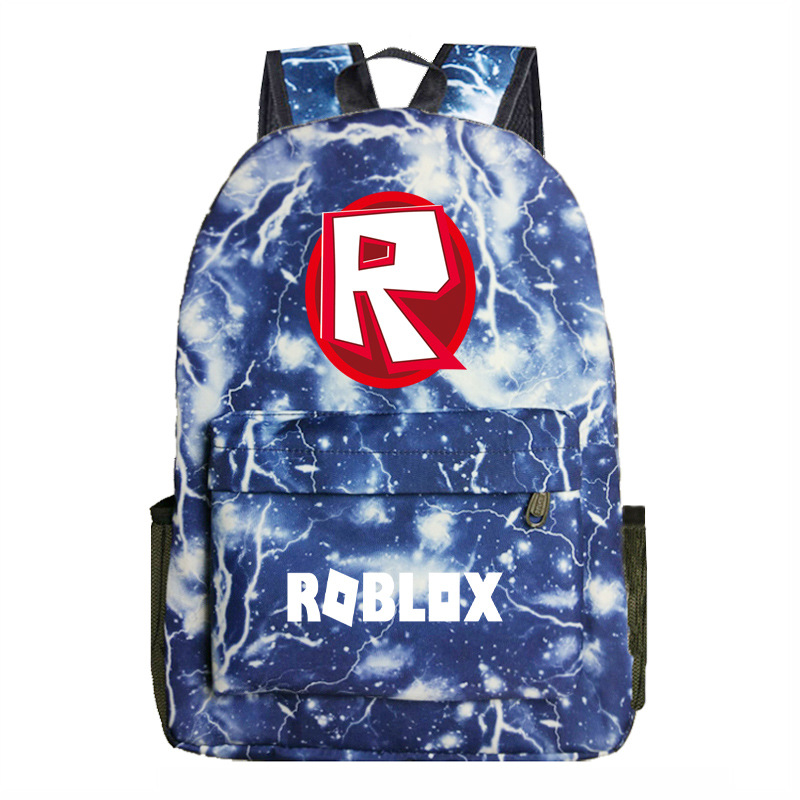 R Printed Roblox Rucksack Notebook Backpack Students Game Bag Backpack School Bags Multi Style
