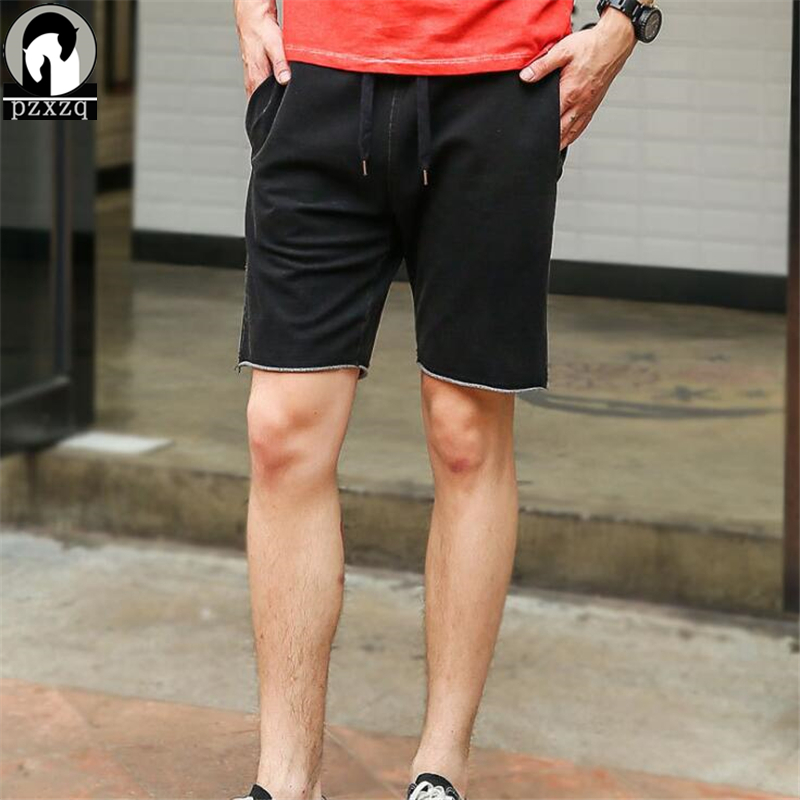 High Quality 2018 100% Cotton Men Shorts Summer Mens Casual Beach Shorts Male Short homme Brand Clothing Elastic Waist Plus Size