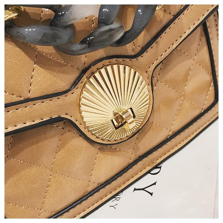 Women's Designer Luxury Channels Bags Shoulder Handbag for Women Quilted Leather Crossbody Flap Bag Fashion PU Lock Tote Handbag (12)