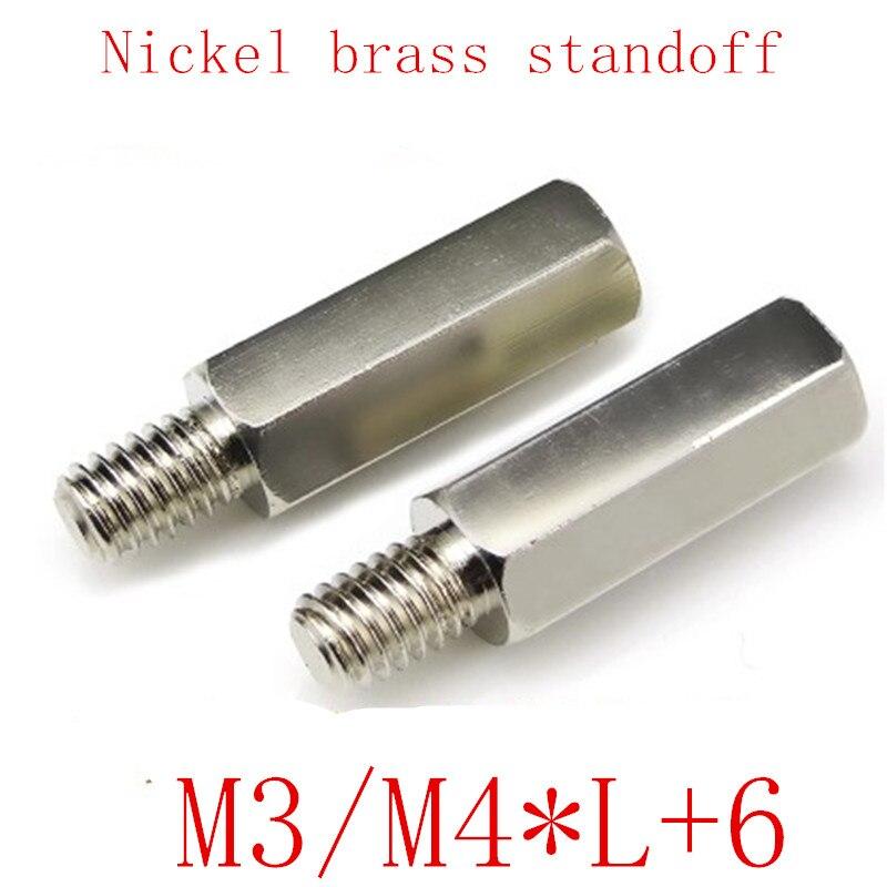 20 шт./10 шт., шестигранная стойка m3 M4