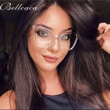 Bellcaca Optical Eyeglasses Women Fashion Prescription Spectacles Cat Eye Glasses Frames Transparent Clear Lens Eyewear BC815