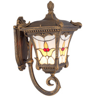 Arabische Stijl Vintage E27 Outdoor Wandlamp Aluminium Glas Body Waterdichte Muur Licht Voor Villa Hotel Eetkamer