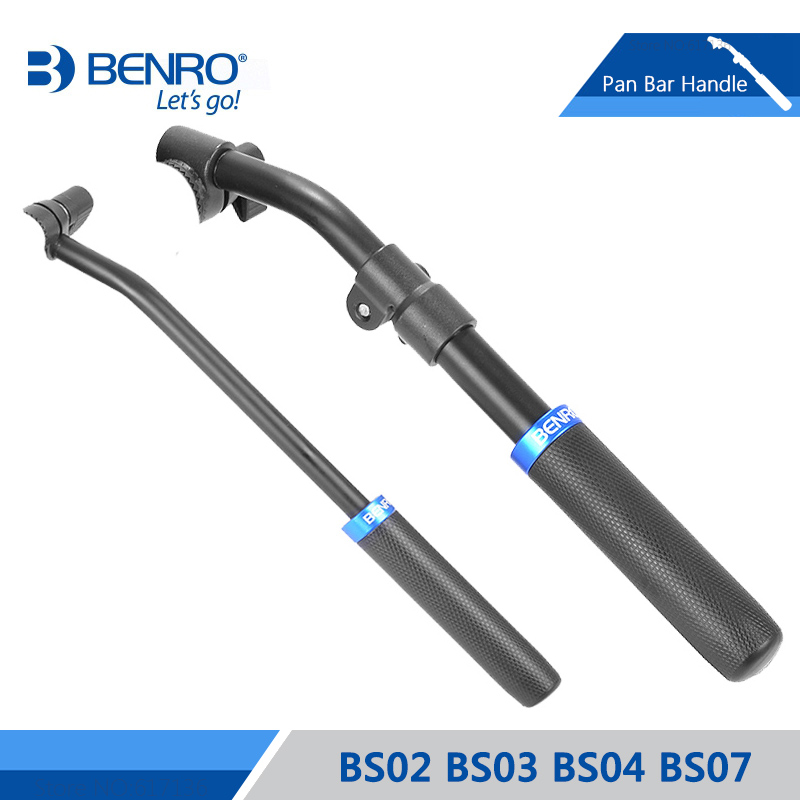 Benro Pan Bar Handle BS02 BS03 BS04 BS07 Aluminum Handle For Benro S2 S4 S6 S7