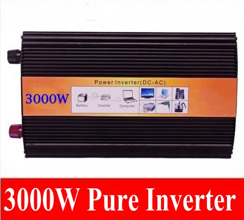 цена на 3KW 3000W high frequency inverter 3000W pure sine wave inverter 3000W Off Grid Tie inverter converter single phase peak 6000W