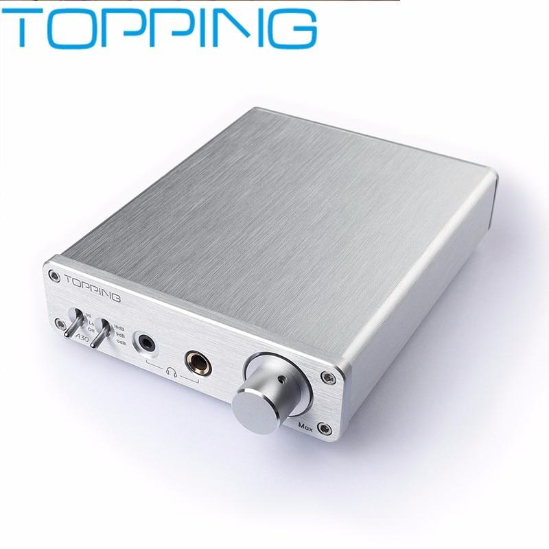 Nouveau TOPPING A30 TPA6120 OPA2134 OPA1611 amplificateur de bureau amplificateur audio