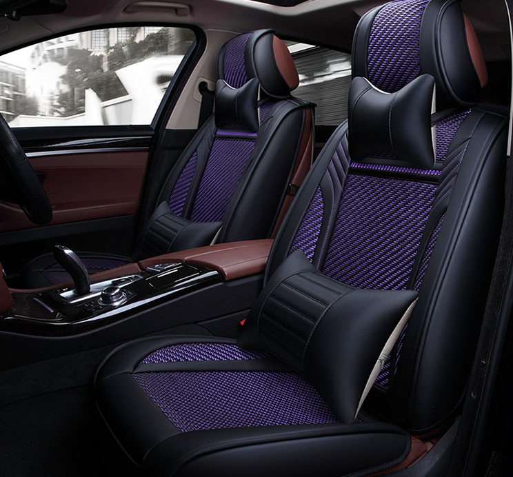 Good quality  Free shipping Full set car seat covers for