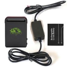10 шт./лот через DHL TK102B автомобиль gps GSM GPRS трекер с SOS превышения скорости сигнализации машины Зарядное устройство + Батарея + коробке