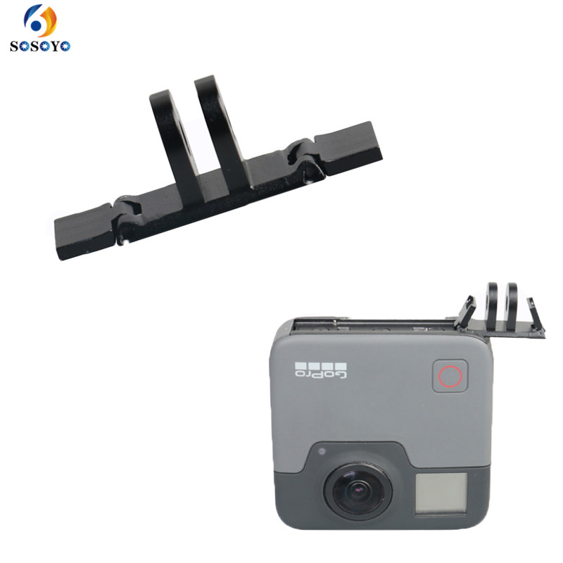 Plastic Camera Rail Guide Adapter Mount Bracke holder for GoPro Fusion 360-Degree Camera Action Sport Camera Accessories
