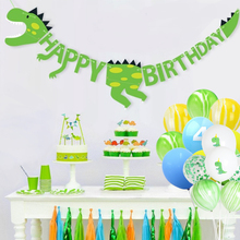 Dinosaur Party Suitable For 12 People Children Birthday Decorations Adult Kids Decoration Supplies