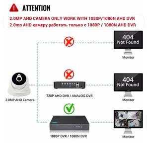 Image 5 - Yiispo ahd cvi tvi câmera analógica 720 p 1080 p dome indoor impermeável infared grande angular 2.8mm 3.6mm 6mm hd cctv câmera