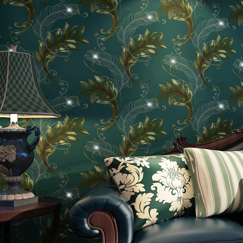 beibehang Asia peacock feathers Homes Decor Living room Bedroom Damask Flock Wallpaper For Walls Wall paper Rolls papel contact tt tf ths 02b hybrid style black ver convoy asia exclusive