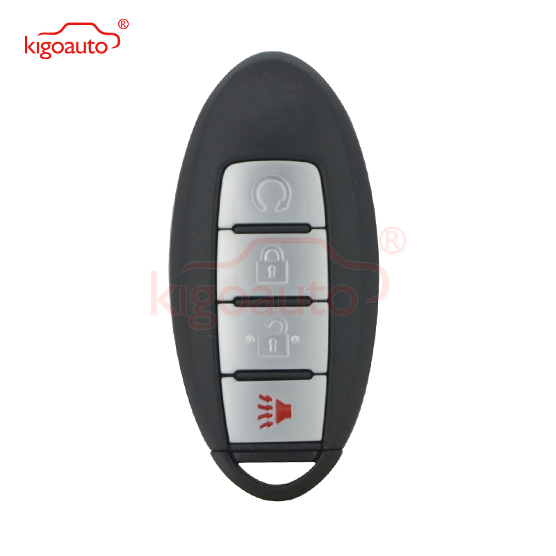 KIGOAUTO KR5S180144014 S180144313 clé de voiture intelligente 4 bouton 433mhz 4A puce pour Nissan Murano Pathfinder Titan 2016 2017 2018