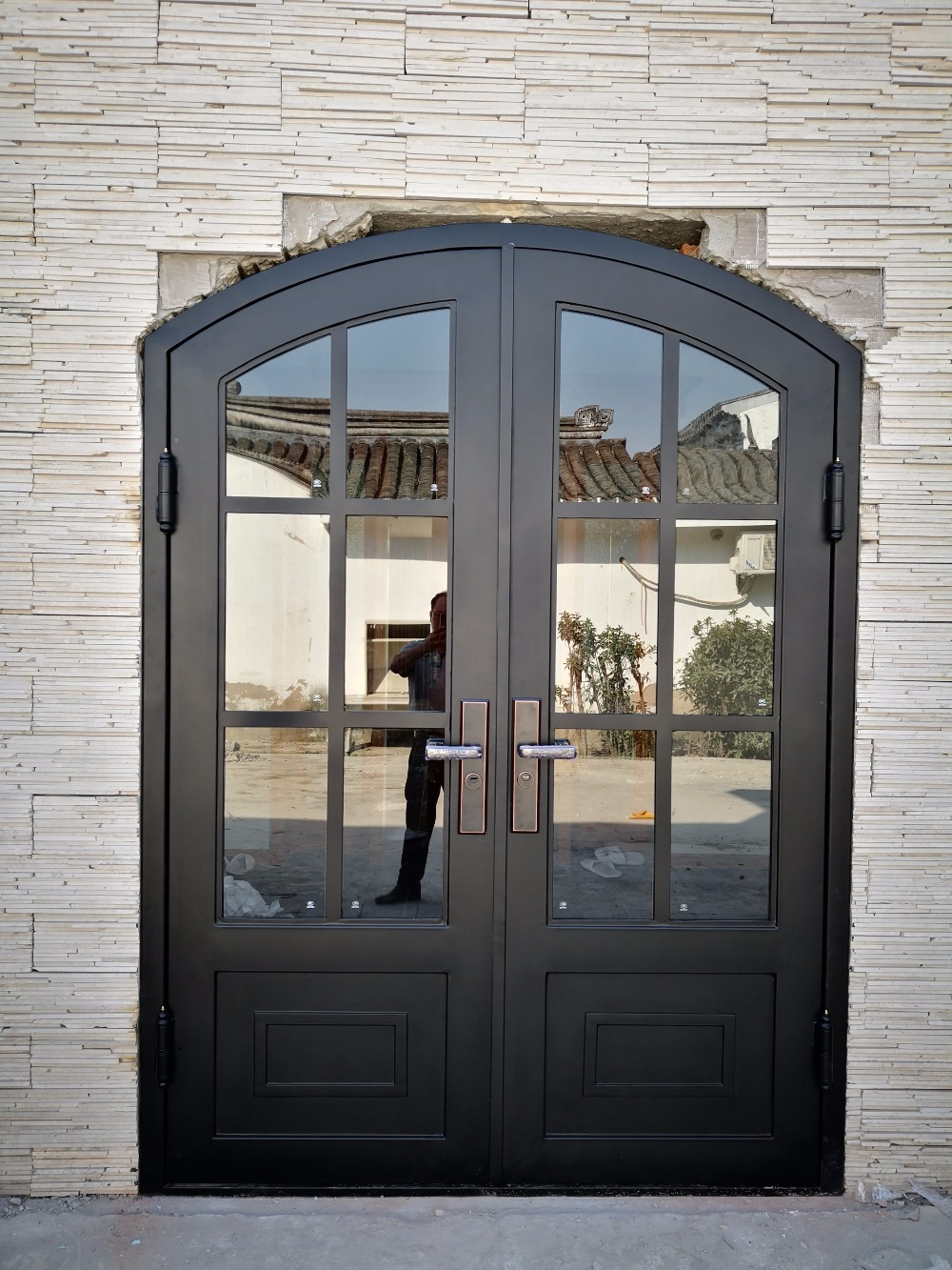 Hench French Style Iron Doors