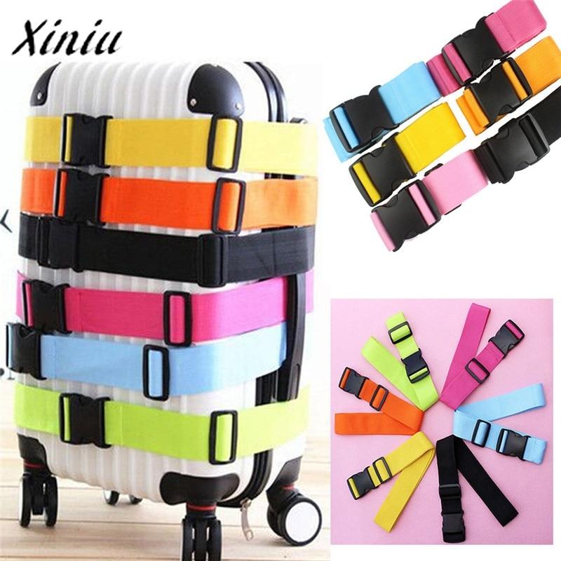 Adjustable Suitcase Luggage Strap Straps Travel Baggage Tie Down Belt Lock sale