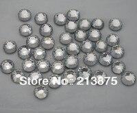Envío libre SS20 1440 unids 5mm DMC claro hotfix cristal Diamantes con piedras falsas posterior plana Diamantes con piedras falsas rhinestone applique strass piedra