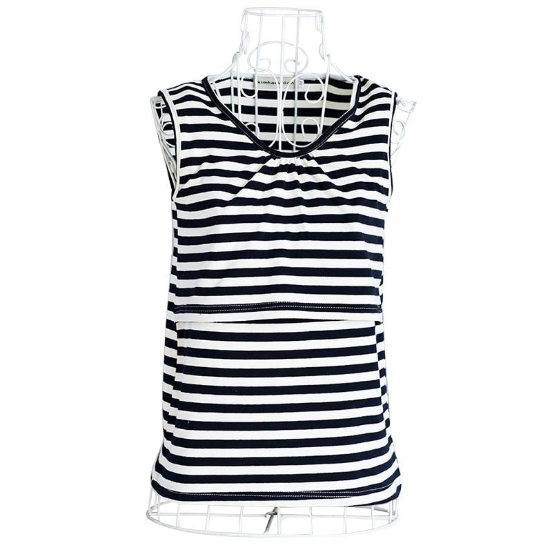 Maternity Breast Feeding Vest Elastic Cotton Nursing Tank Tops Clothes Pregnant Women Breastfeeding Shirts Tees Clothing