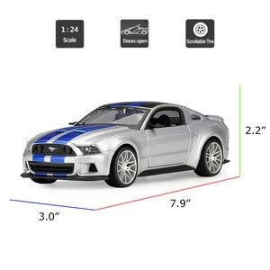 Image 2 - HOMMATจำลองMaisto 1:24 2014 Ford Mustang Street Racerรุ่นรถDiecast Toyรถสะสม