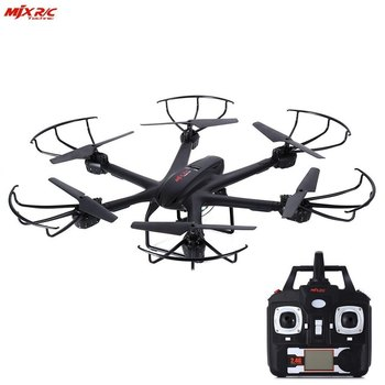 MJX X601H WiFi FPV 720P CAM Air Pressure Altitude Hold 2.4GHz / APP Control 4 Channel 6 Axis Gyro Hexacopter 3D Rollover
