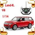 Presente de Ano novo 1/14 LR RC Carro SUV Off Road Remoto Movimentação de Jipe de controle de Rádio Brinquedo Modelo Grande Caminhão Elétrico Quatro Rodas Do Veículo