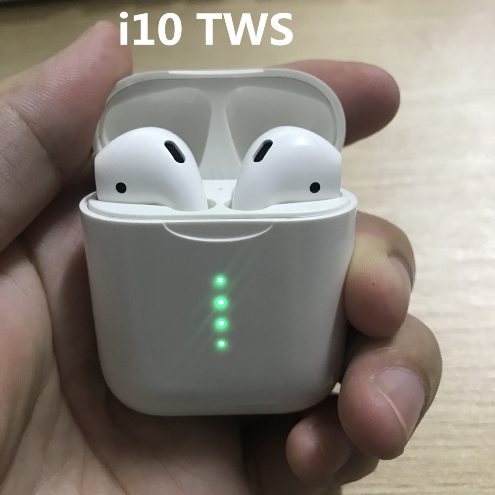 New tws i10 / i9s tws i10tws Bluetooth Earphone Earbuds Wireless not i9s air pods for iphone samsung android X XS Max