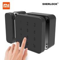 Xiaomi Шерлок пароль блокировки дверей Keyless Цифровой Электрический Smart Lock Bluetooth APP телефон Управление G1 блокировки для офиса Стекло
