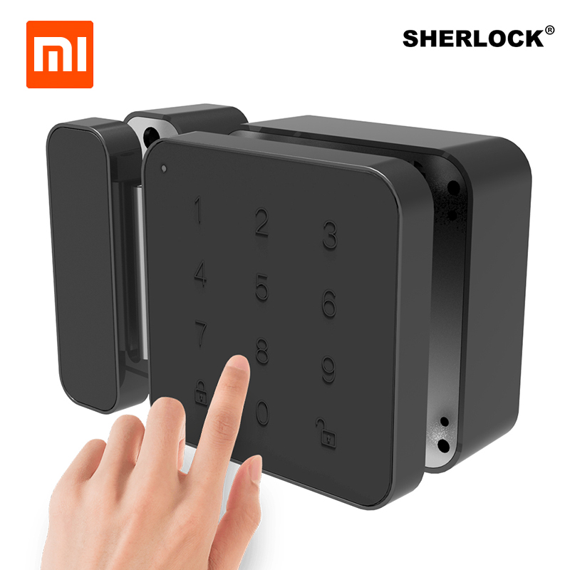 Xiaomi Sherlock Password Serratura di Portello Keyless Digitale Elettrico Serratura Intelligente Bluetooth APP Del Telefono di Controllo G1 di Bloccaggio Per Ufficio di Vetro