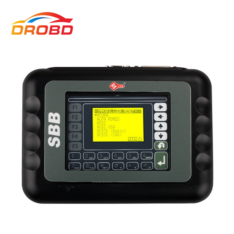 Professional Slica SBB Key Programmer SBB V33.02 Auto Car SBB Key Programmer For Multi Brand Cars No Need Tokens 9 Languages