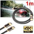 1/1. 5/2/3/5 М Ultra HD HDMI 19 контактов Male-19 пальцы Мужской Золото кабель v2.0 Высокая Скорость + Ethernet HDTV 2160 P 4 К 3D ЗОЛОТО L3FE