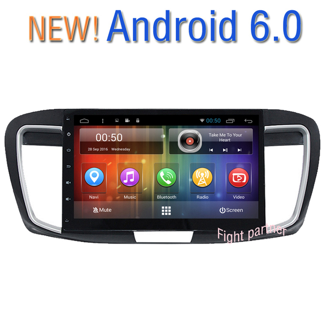 10 2 Android 6 0 Os Car Dvd Multimedia For Honda Accord 9 2017 2016 With Gps Navigation Mirror Link Obd